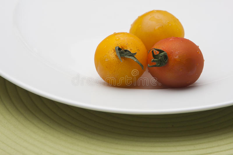 świezi dojrzali pomidory fotografia royalty free