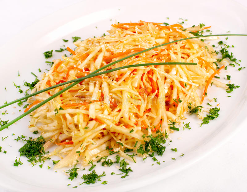 świezi sałatkowi warzywa zdjęcie stock