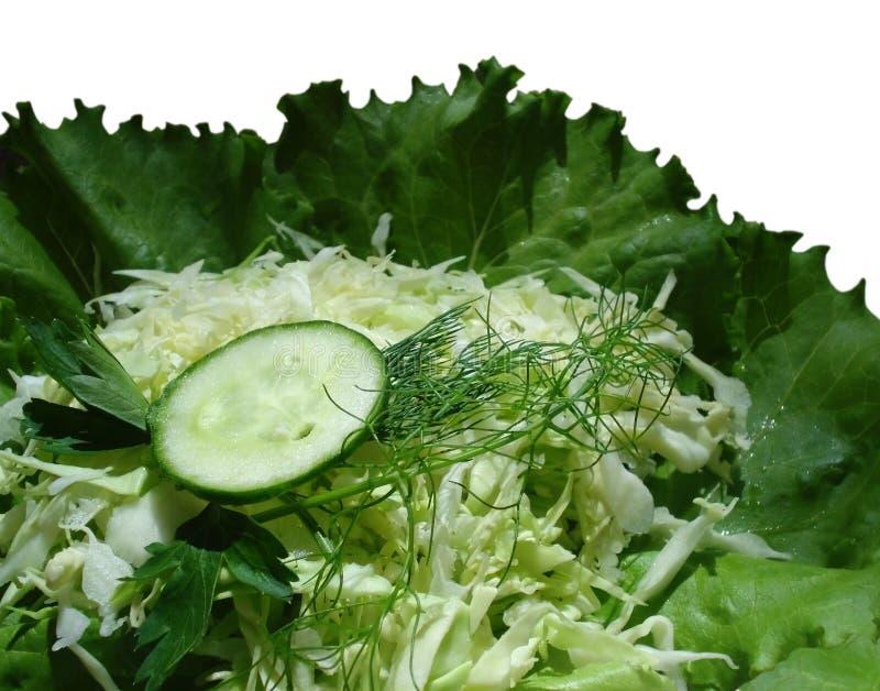 świezi zieleni vegetabels obraz stock