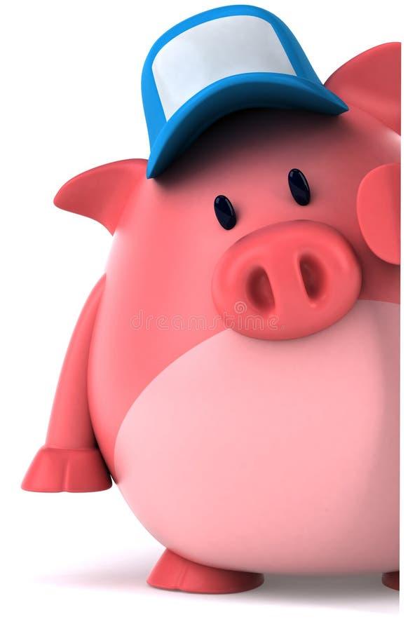 świnia ilustracja wektor