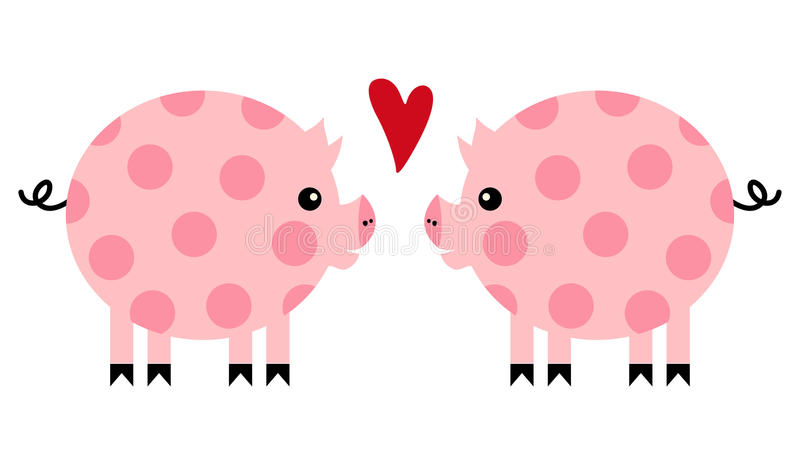 świnia wektor ilustracji