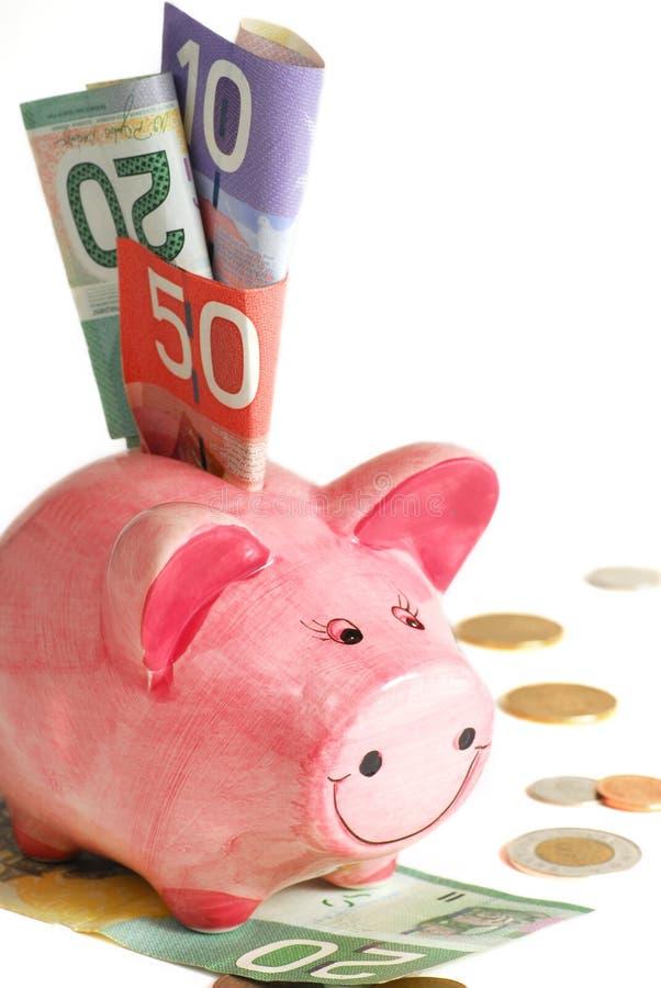 świnka banku zdjęcie royalty free