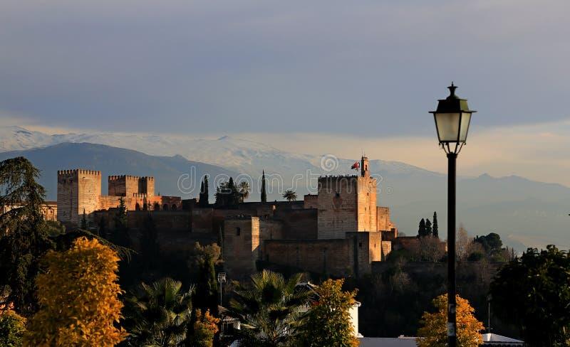 świron alhambra obraz stock