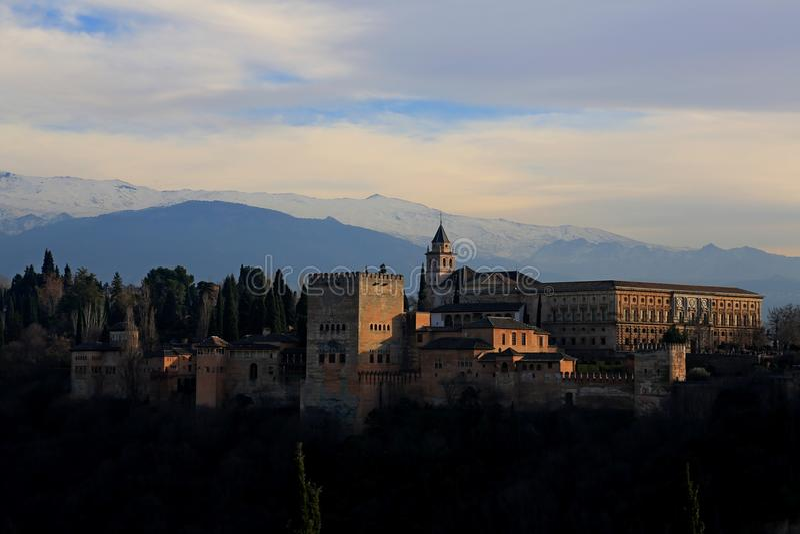 świron alhambra obrazy royalty free