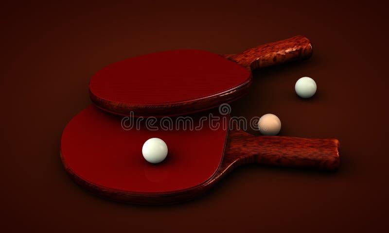 Świst Pong fotografia stock