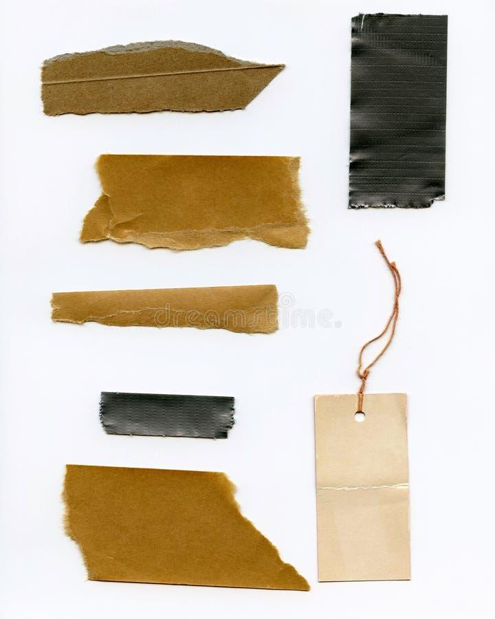 świstek papierowa taśma zdjęcie stock