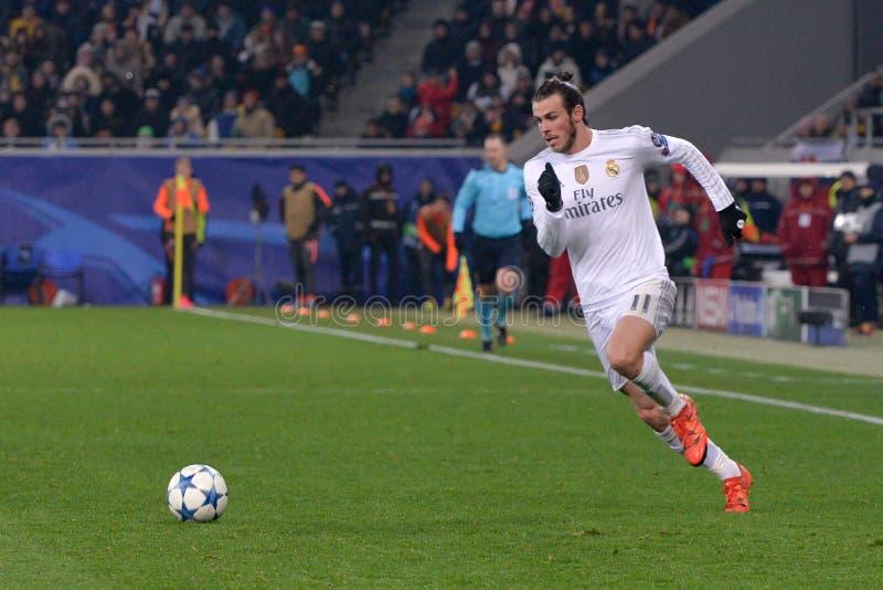 Šakhtar contro il Real Madrid Lega di campioni di UEFA 2015-2016 stagioni fotografia stock