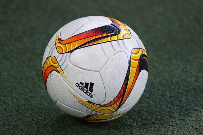 Šakhtar del gioco della lega di europa dell'UEFA contro Anderlecht fotografia stock