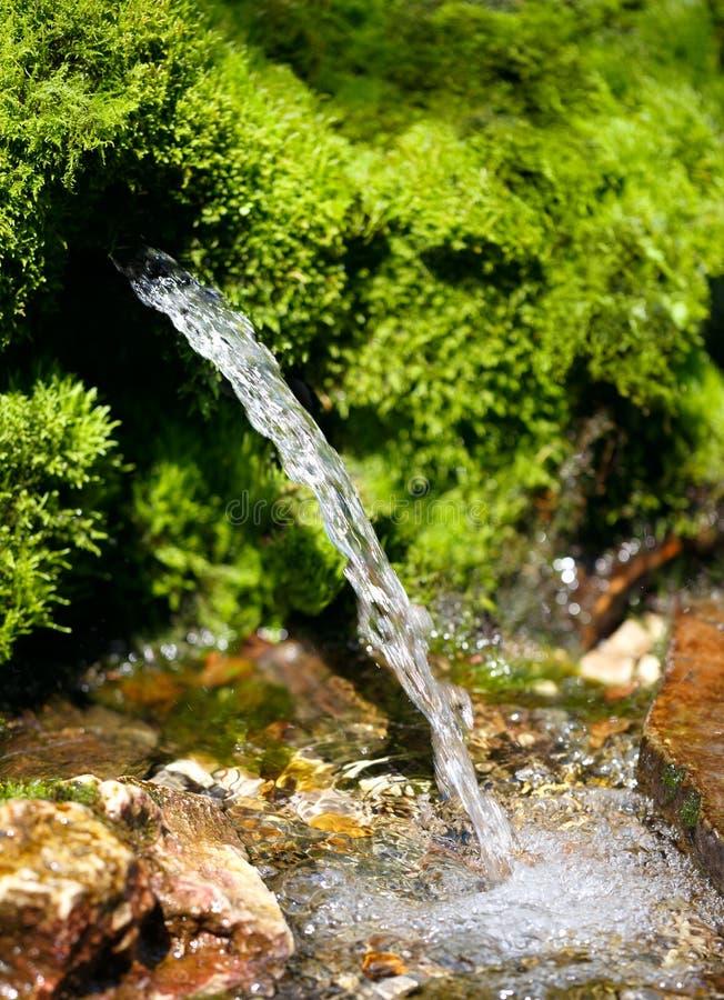 Źródło wiosny woda obraz stock