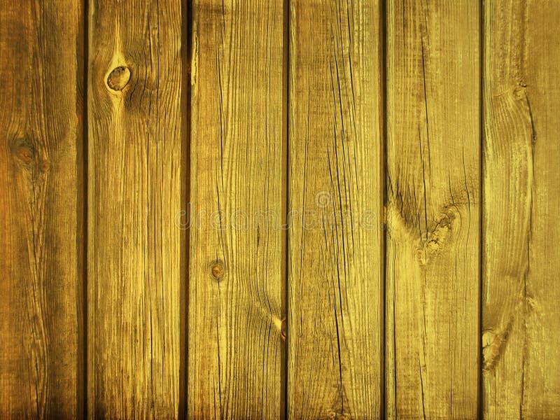 Żółta drewniana tekstura dla tła obrazy stock
