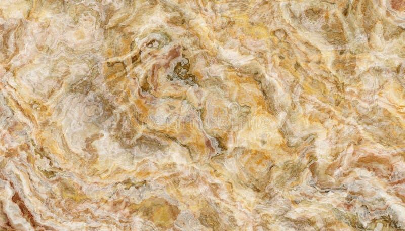 Żółta onyks płytki tekstura zdjęcia stock