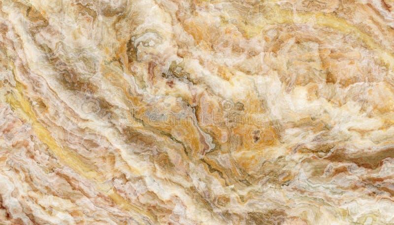 Żółta onyks płytki tekstura obrazy stock