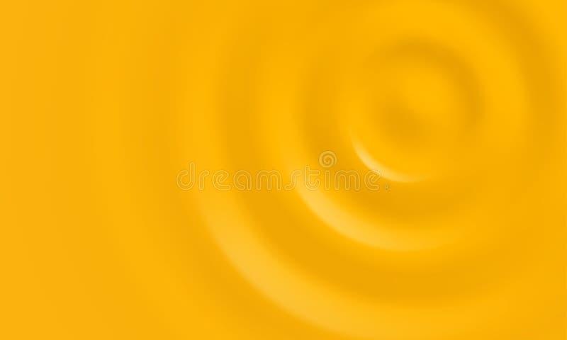 Żółty śmietankowy lub złocisty kremowy wektorowy tło royalty ilustracja