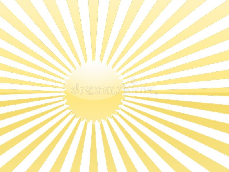 Żółty światło słońca