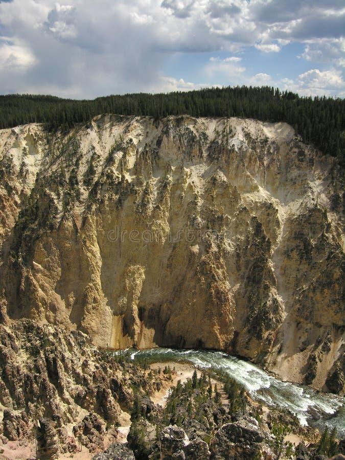 Żółty canyon fotografia stock