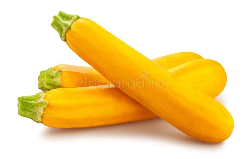 Żółty Courgette zdjęcia stock