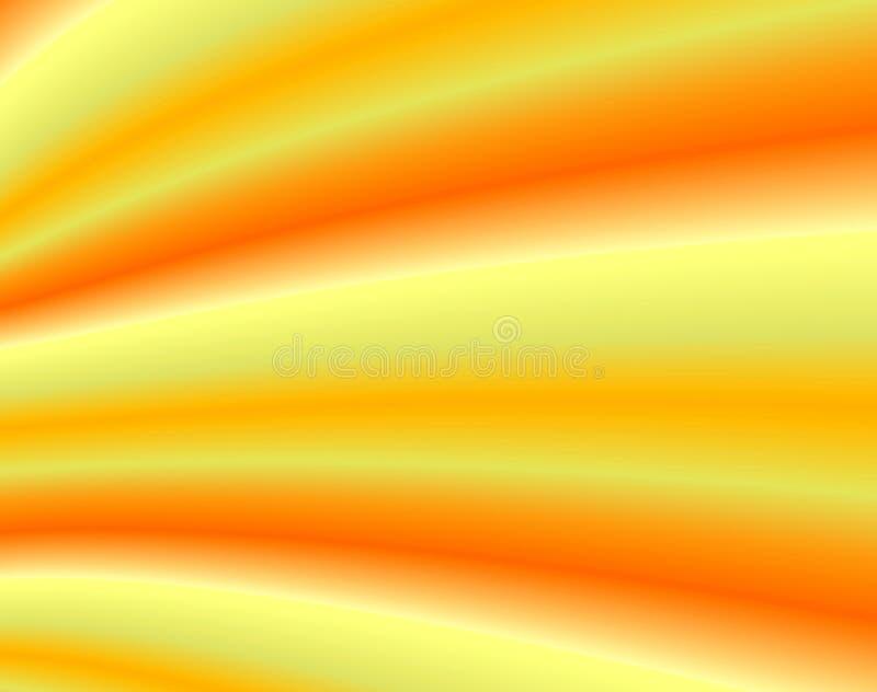 Żółty draperii tło ilustracja wektor