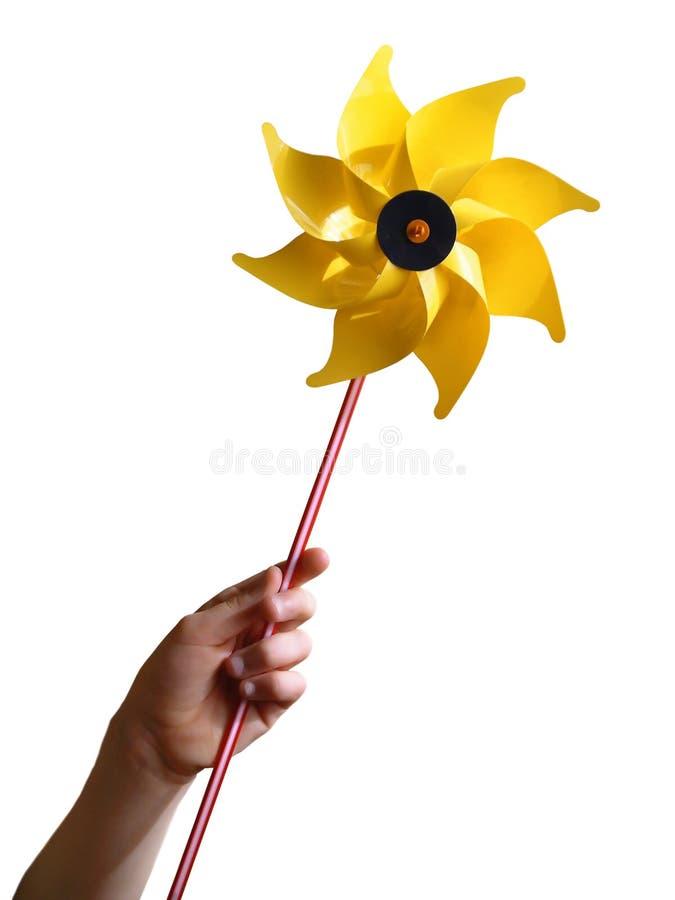Żółty młyna zdjęcie stock