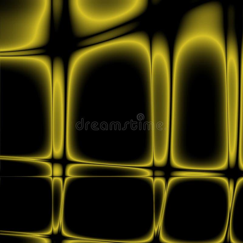 Żółty oczek ilustracja wektor
