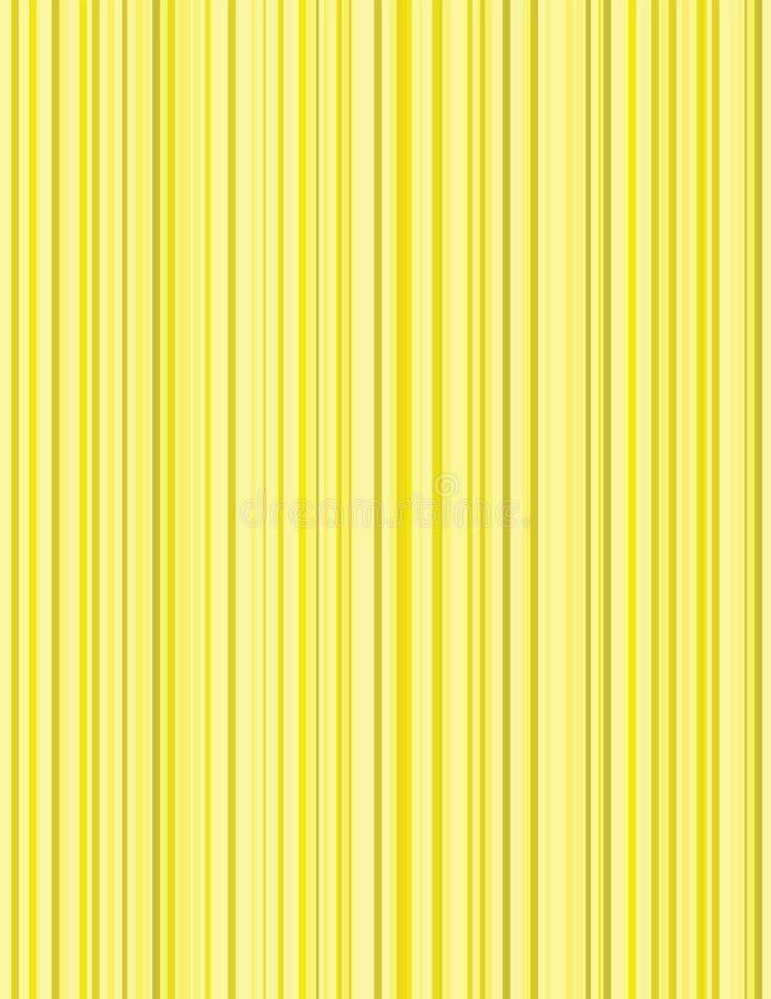 Żółty prążka tło royalty ilustracja