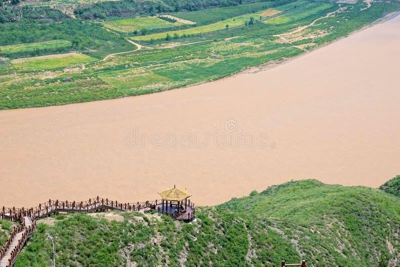 Żółty Rzeczny Qiankun chył fotografia stock