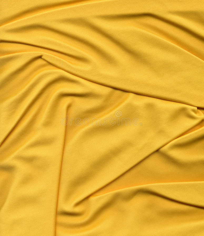 Żółty sieci tkaniny obrazy stock