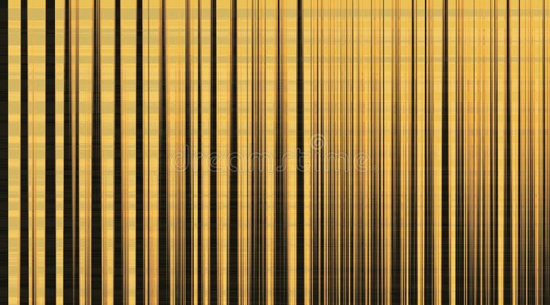 Żółty tło z abstrakcjonistyczną siatką fotografia royalty free
