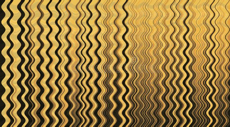 Żółty tło z fala zdjęcie royalty free