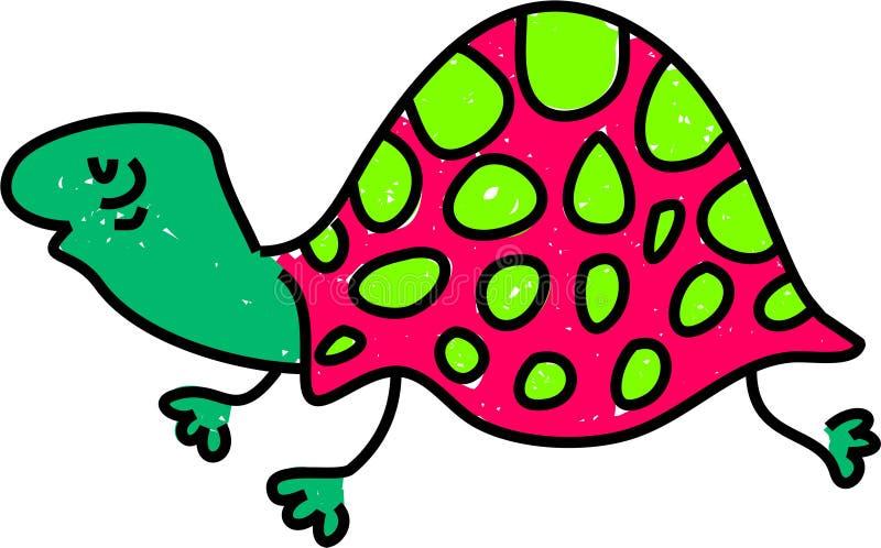 żółw royalty ilustracja