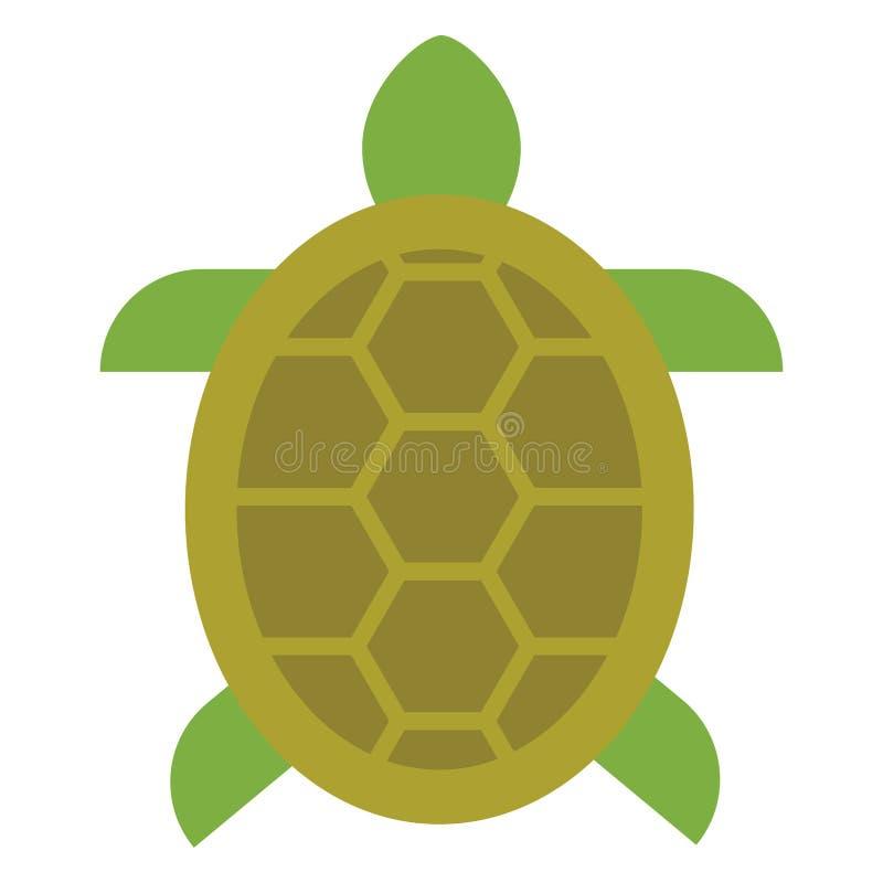 Żółw ikona ilustracja wektor