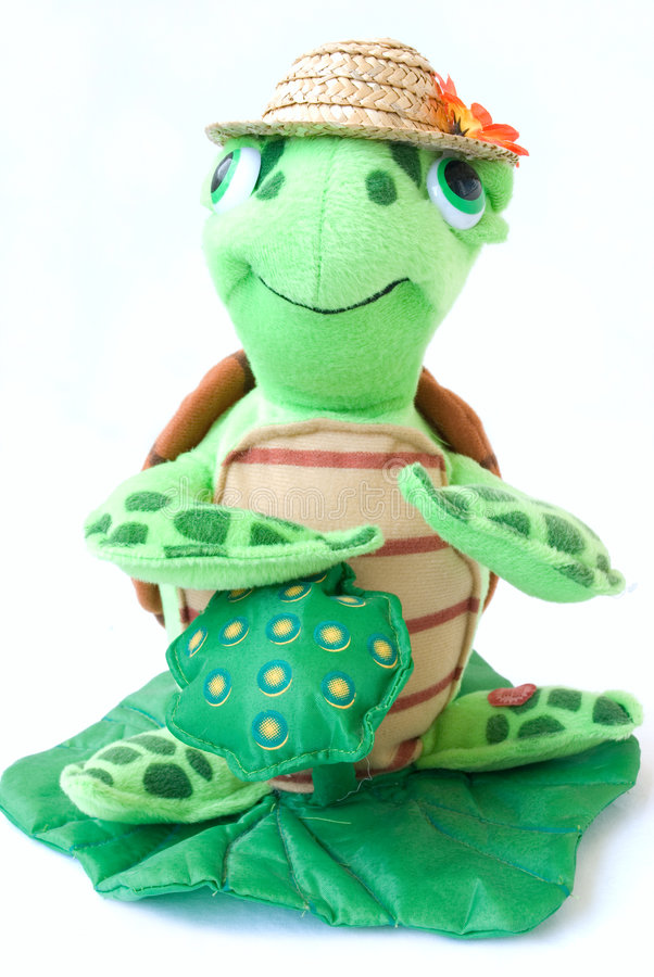 żółw zabawek fotografia royalty free