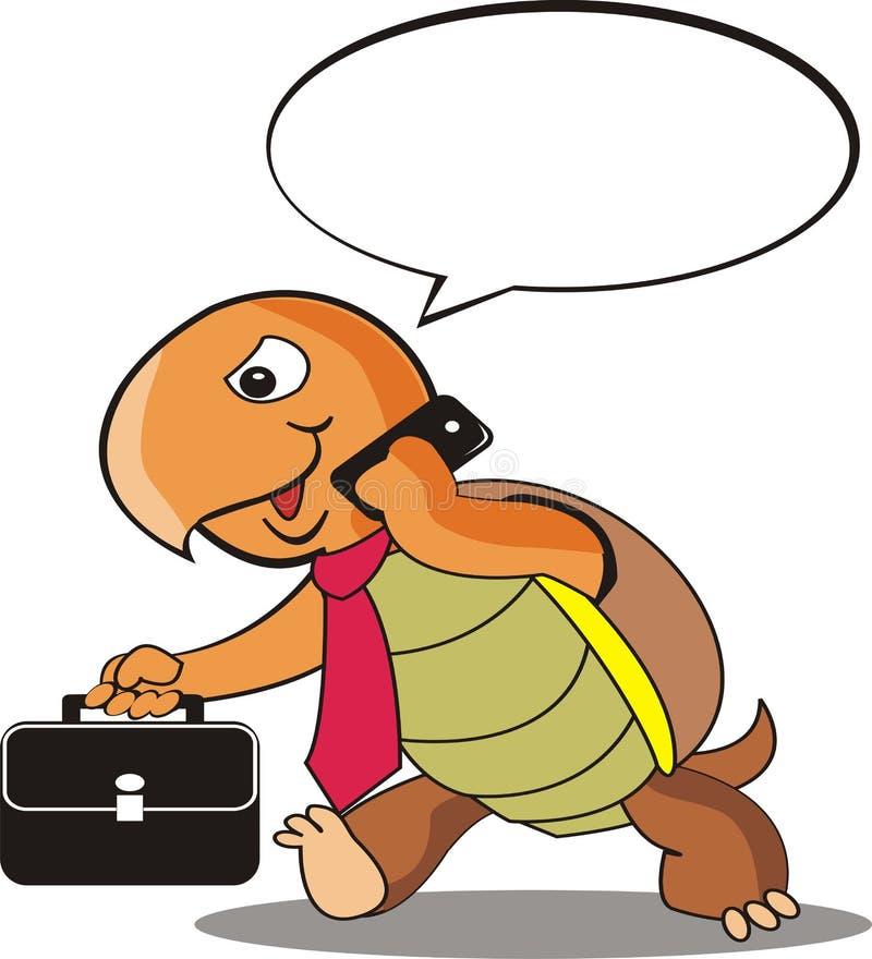 Żółwi pracownicy są ruchliwie royalty ilustracja