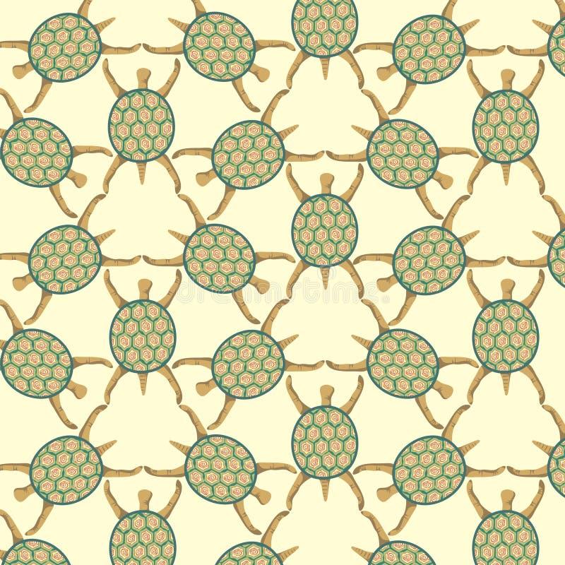 żółwie ilustracja wektor