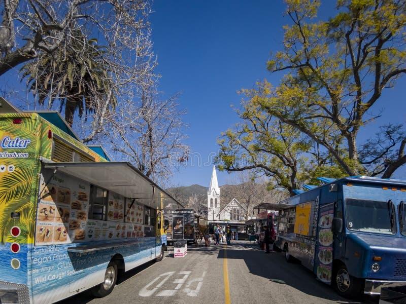 Żałość festiwal w Sierra Madre obrazy stock
