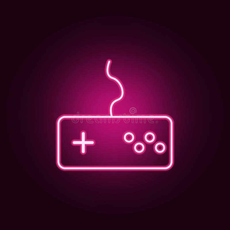 Żadny 18 lat Pod osiemnaście szyldową neonową ikoną, Elementy sie? set Prosta ikona dla stron internetowych, sie? projekt, mobiln royalty ilustracja