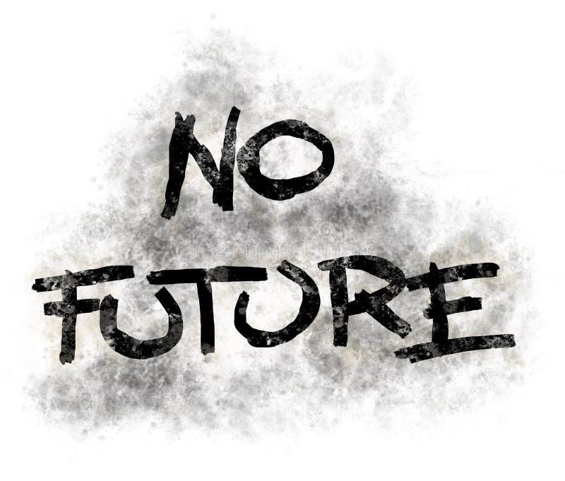 Żadny przyszłość royalty ilustracja