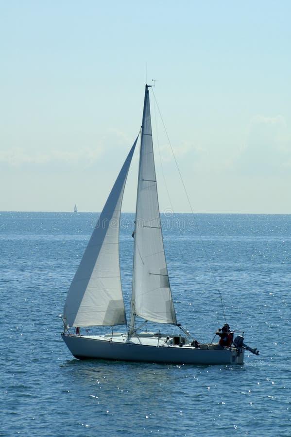 żagiel łodzi zdjęcie royalty free