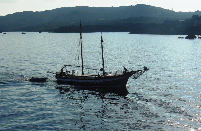 Żaglówka w Palau zdjęcia stock