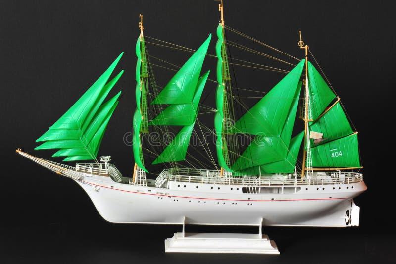 żagla wzorcowy statek obrazy stock