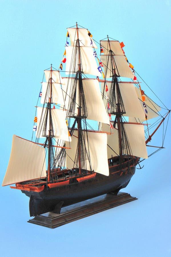 żagla wzorcowy statek obraz royalty free