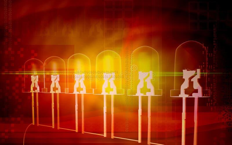 żarówki komórka zapalająca ilustracja wektor