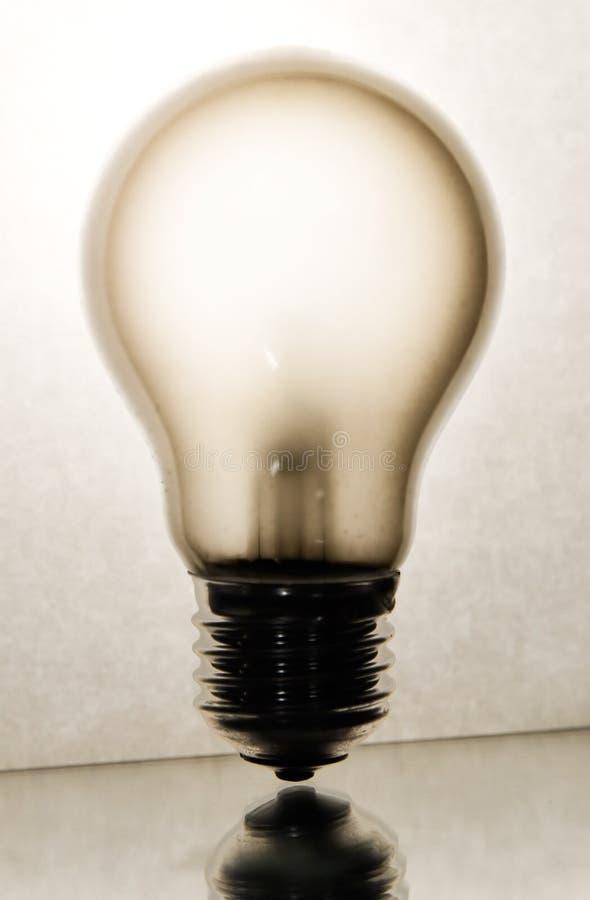 żarówki pojęcia widok światła elektrycznego obraz stock