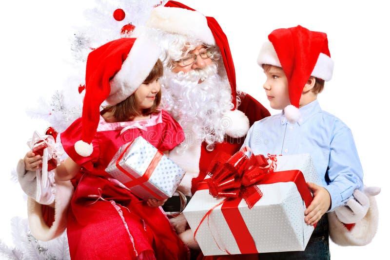 żartuje Santa zdjęcie stock
