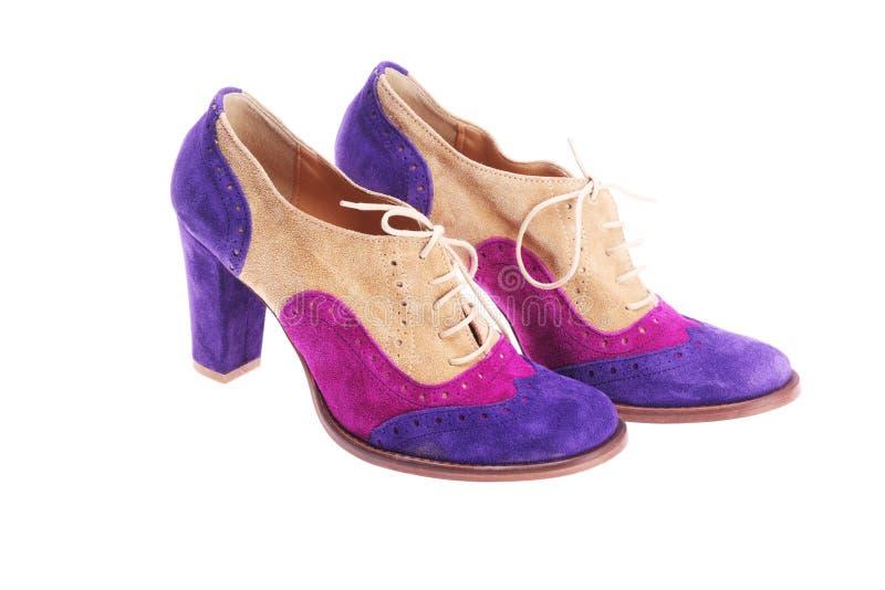 żeńscy buty obrazy stock