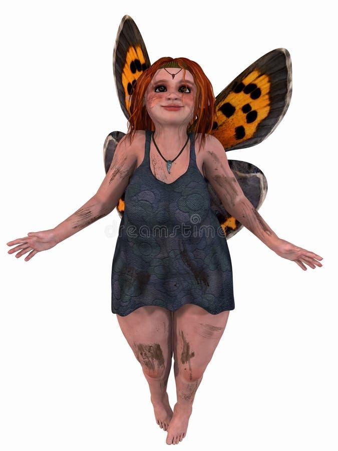 żeńska fantazi postać royalty ilustracja