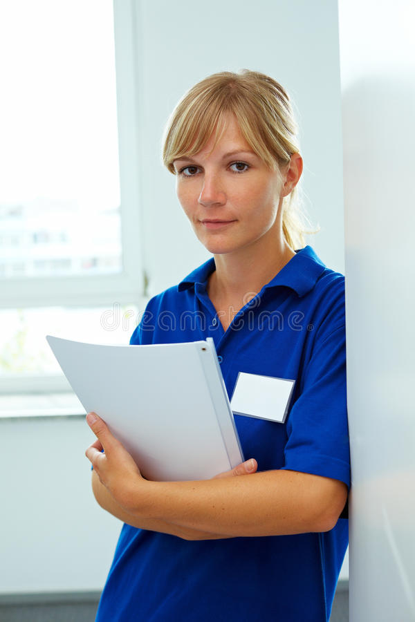 żeńska pielęgniarka zdjęcia stock