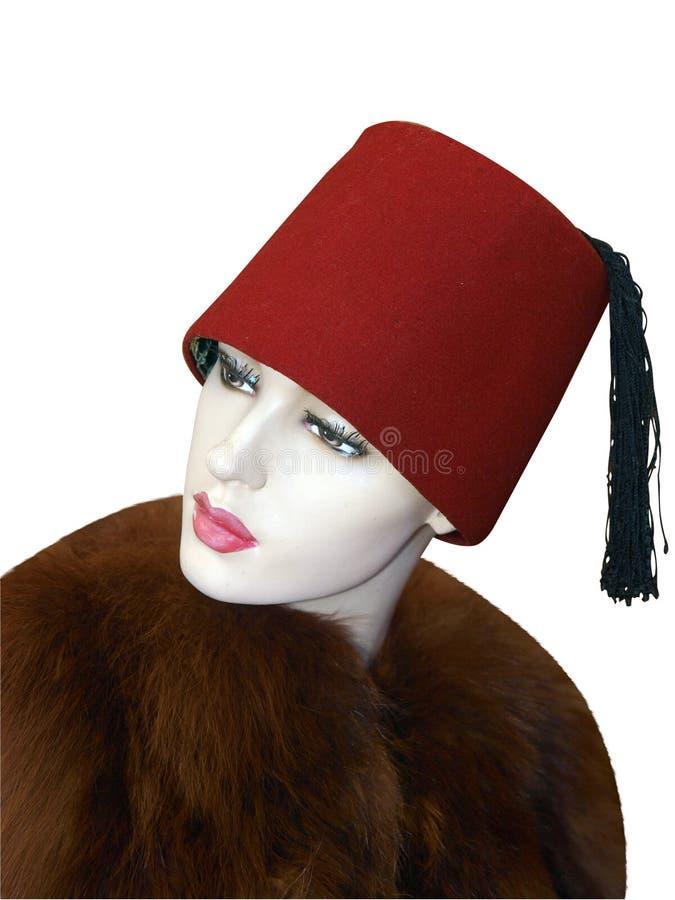 żeński fezu mannequin target2130_0_ zdjęcia royalty free