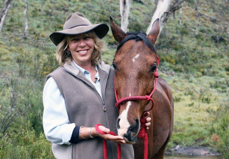 żeński jeździec obrazy royalty free
