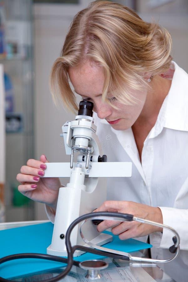 żeński medyczny profesjonalista fotografia stock