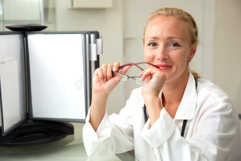 żeński medyczny profesjonalista zdjęcia stock